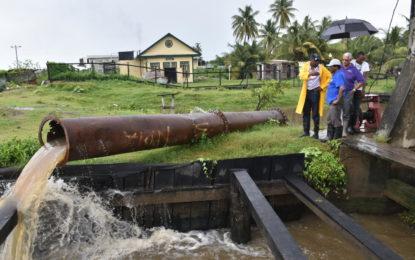 Relief underway for flood hit East Coast, Demerara (ECD) communities