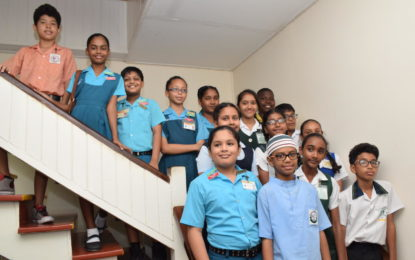 Big Improvement in Mathematics- as Saskia Twahir top Guyana at NGSA