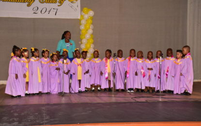 First Lady attends South Road Nursery's graduation exercise