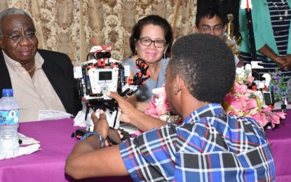 23 Buxton youths graduate from First Lady's ICT training workshop