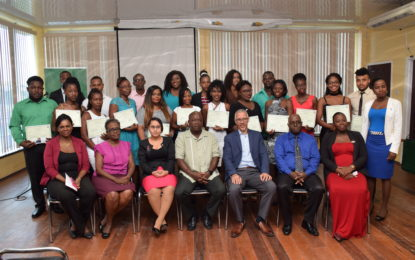 Small business graduates urged to venture into technology