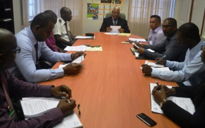 High-Level meeting held to address illegal importation of shrimp, fish from Suriname  – collaborative effort needed to ensure compliance