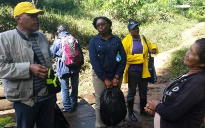 Government continues to assist flood affected residents in Region Seven and Eight