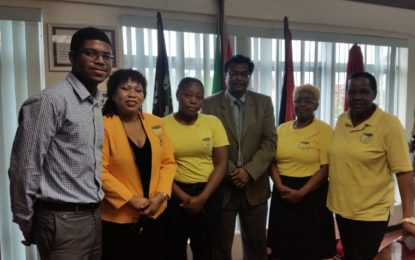 MINISTERIAL TASK FORCE ON TRAFFICKING IN PERSONS – Meeting with Guyana Women Miners Organization
