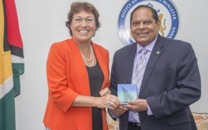 Courtesy Call by New Zealand High Commissioner