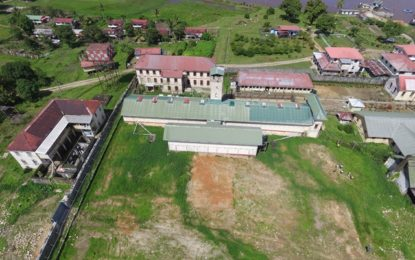 Mazaruni Prison Expansion works ongoing-several living quarters near completion