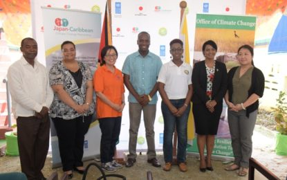 Japan-Caribbean Climate Change Partnership launched  -Bartica to benefit from installation of Solar Photovoltaic system