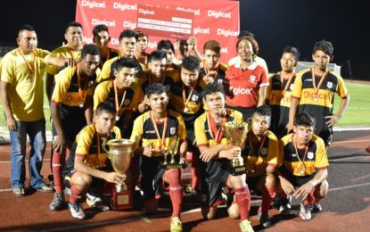 Hinterland sports on the rise, indigenous teams cop second and third in Digicel School Football Competition