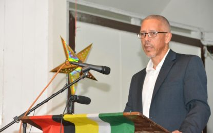 Region Six private sector encouraged to submit proposals for sugar industry future  -Minister Harmon addressesBerbice Chamber of Commerce dinner