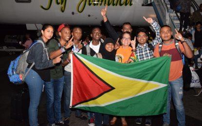 STEM Guyana team returns home