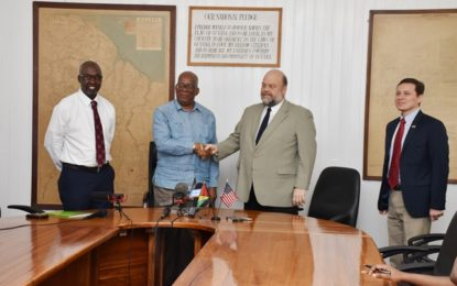 Guyana gets $30M support from US to strengthen its anti- money laundering regime