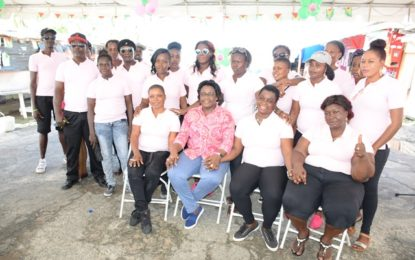 Minister Broomes launch Ann's Grove women's group for empowerment & social welfare