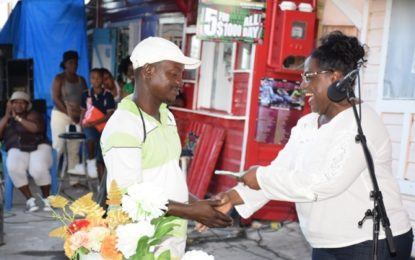 Government conducts outreach at Ann's Grove Village