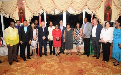 Guyana to strengthen relations with Spain as high level Spanish delegation visits