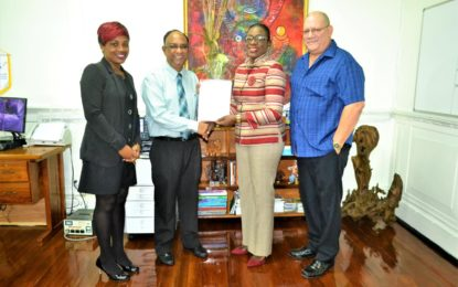 Gov't/ CPL ink deal for Guyana Leg of CPL to be hosted at Providence Stadium