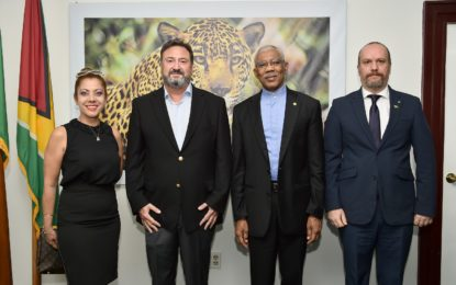Investors express full confidence in Guyana  -during meeting with President Granger