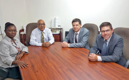 Team from the Royal Canadian Mint visits Guyana Gold Board to assess the agency's oversight processes