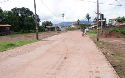 Residents of Mahdia pleased with road works