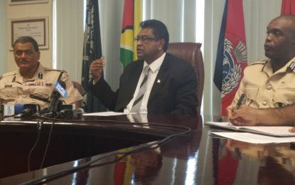 """We are not out of the woods yet. We have a lot of work to do to recapture prisoners and maintain order"" – Minister Ramjattan"