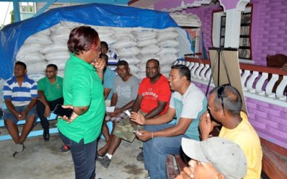 GRDB meets with Corentyne rice farmers – D&I issue among major others to be addressed shortly