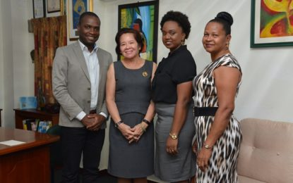 First Lady and Bartica Municipality discuss social issues affecting youth, women