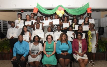 57 Buxton/Friendship students graduate from First Lady's ICT, remedial programmes