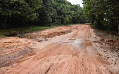 Several key Hinterland roads to be rehabilitated by year end- concrete and asphaltic mixes to be utilized