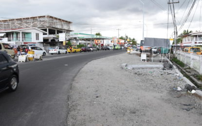 West Dem road expansion due for completion early 2018