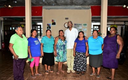 President honours group of women supporters at special luncheon