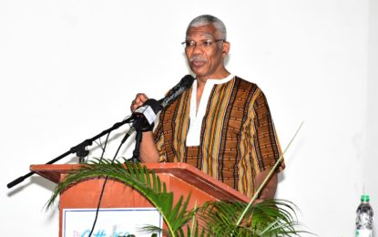 Recommit to fulfilling objectives of the International Decade of People of African Descent  -President Granger at Cuffy 250 annual forum