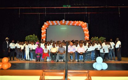 240 youngsters complete recreational camp hosted by MOE, USAID