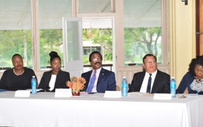 Ministry of Legal Affairs convenes first in series of Anti-Corruption Sensitisation Seminars in Linden