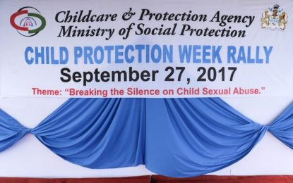 Ministry of Social Protection Hosts Grand Child Protection Rally in Essequibo