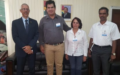 ALIMPORT Representatives pay Courtesy Call on Minister of Business