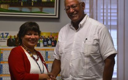 Canadian High Commissioner pays courtesy call to Agri. Minister