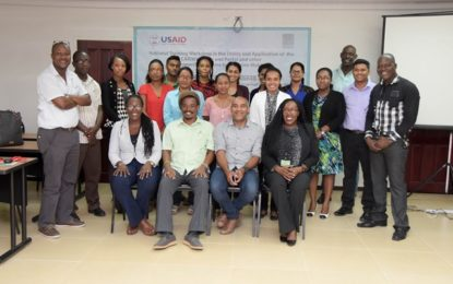 Climate modelling important for Guyana's disaster preparedness  –  Director DoE says at closing of OCC workshop