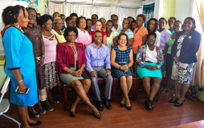 First Lady brings the Self-Reliance and Success in Business Workshop to the Capital