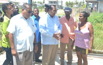 Govt and team conduct hands-on assessment at Bath Settlement, assures assistance