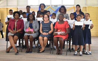 First Lady commends 12 graduates from Lusignan Youth Development Initiative