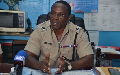 Crime down in Berbice- Acting Crime Chief Williams