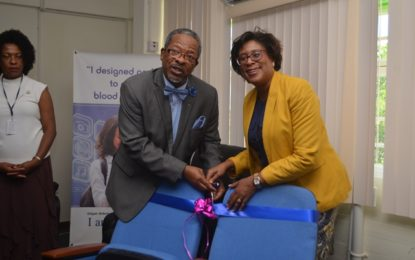 UG and Theatre Guild receive donation of 375 chairs