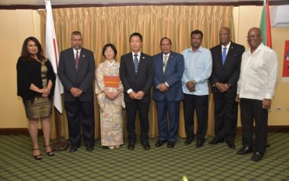 Guyana-Japan celebrates 50 years of diplomatic relations