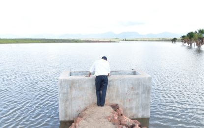Water reservoir at Nappi completed