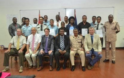 Officers graduate from Strategic Planning training