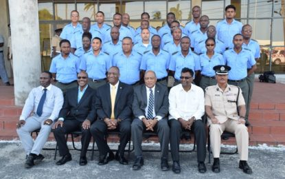 First batch of Corps Wardens graduated