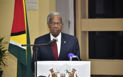 UG hosts fourth VC Renaissance Lecture- Sir George Alleyne urge all Caribbean citizens  to work facilitate regional integration
