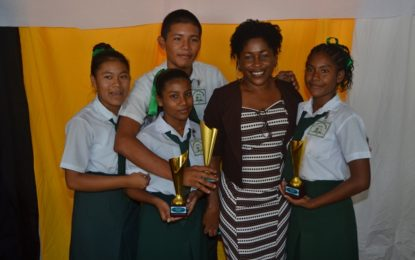 St. Ignatius Secondary advances to the second leg of the JOF debating competition