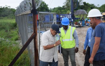 GWI conducts site visit to Diamond Well