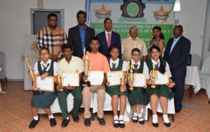 Region three top performers honoured by R.3.C.C.I