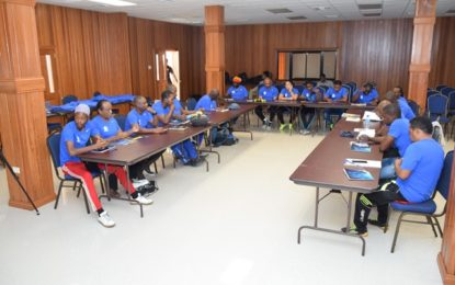 GFF and CONCACAF D-License Programme commences